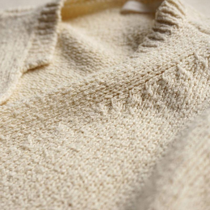 Unevenly Spun Silk