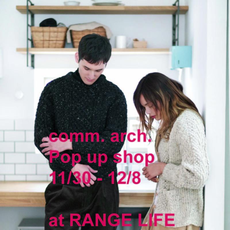 Pop up shop @ RANGE LIFE
