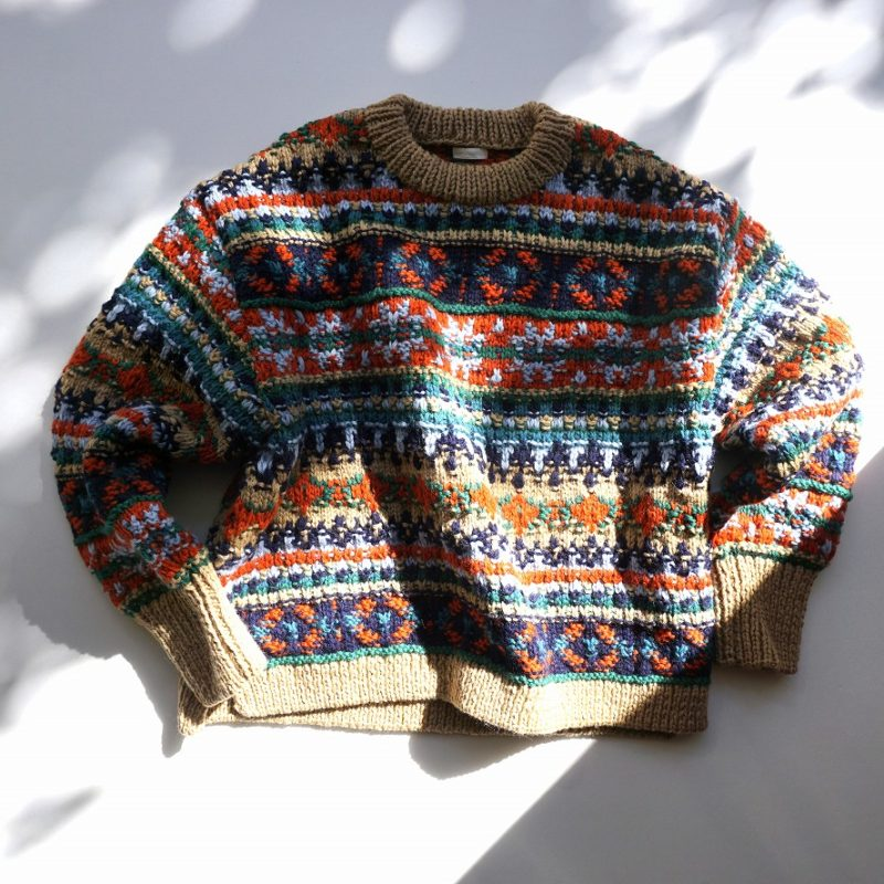 Hand Knitted P/O - Farb-Akkord別注